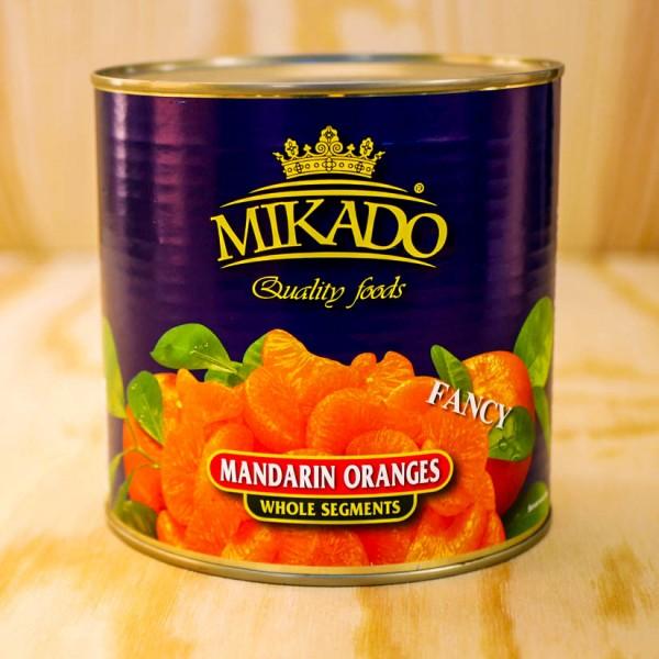Mandarin-Oranges, whole segments, in light syrupmax.5 % broken