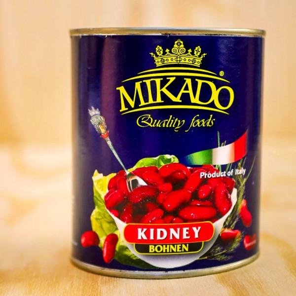 Kidneybeans, deep red, US raw material
