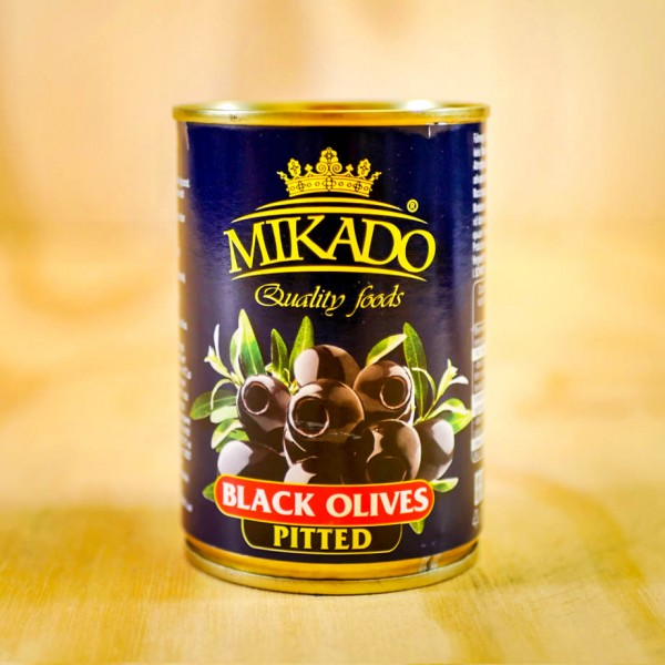 Olives, black, pitted