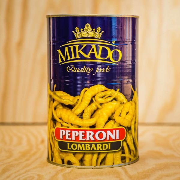 Peperoni Lombardi, green, wholes