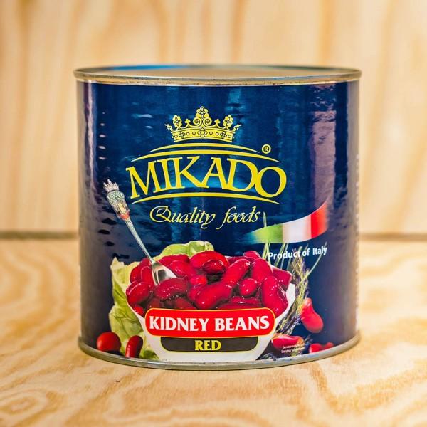 Kidneybeans, deep red