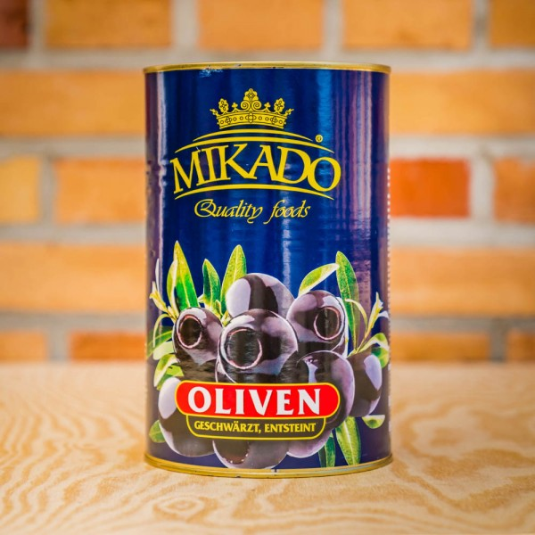 Olives, black, pitted, 34/36