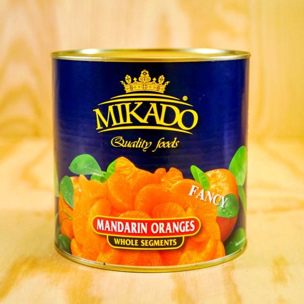Mandarin-Oranges, whole segments, in light syrupmax 5% broken