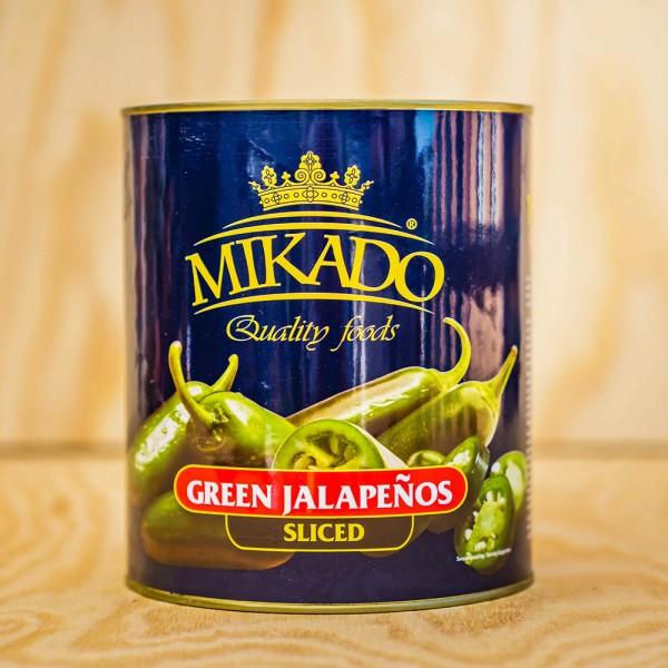 Jalapenos, green Slices, hot