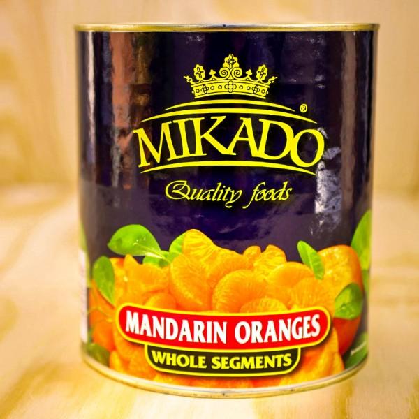 Mandarin-Oranges, whole segments, in light syrupextra max 5 % broken