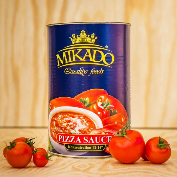 Tomato - Pizzasauce, unspiced