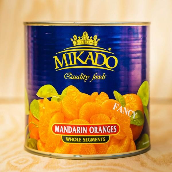 Mandarin-Oranges, whole segments, in light syrupmax.10% broken