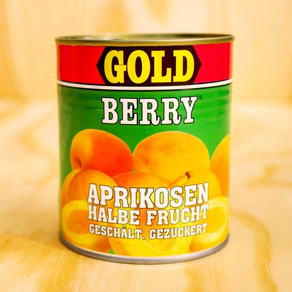 Apricots peeled, halves, in light syrup