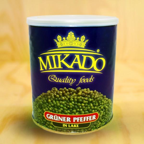 Pepper, green, in brine