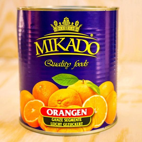 Orange Segments, in light syrup