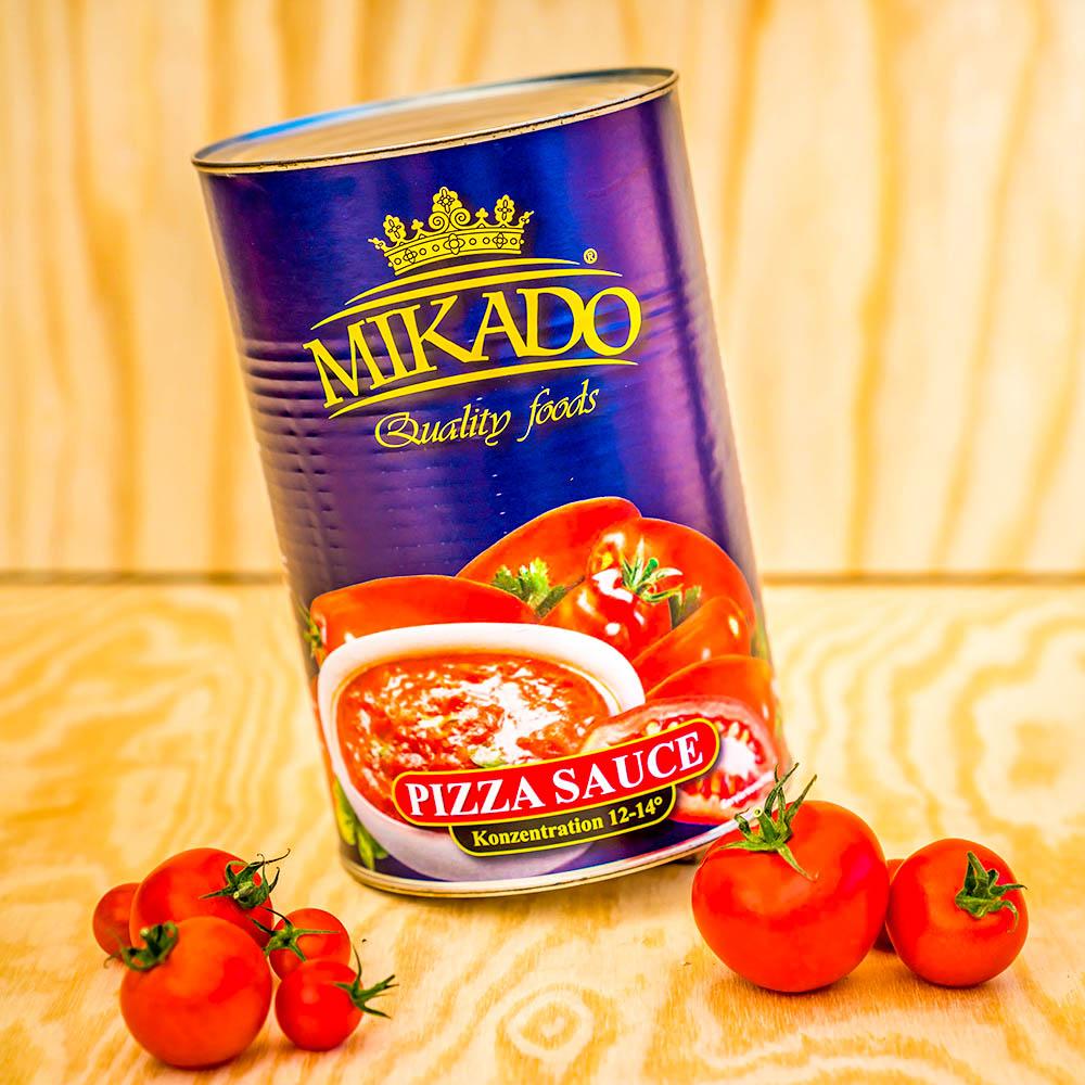 Tomaten Pizza Sauce Ungewurzt 3 X 4250ml Dose Mikado Mikado Foods Shop De
