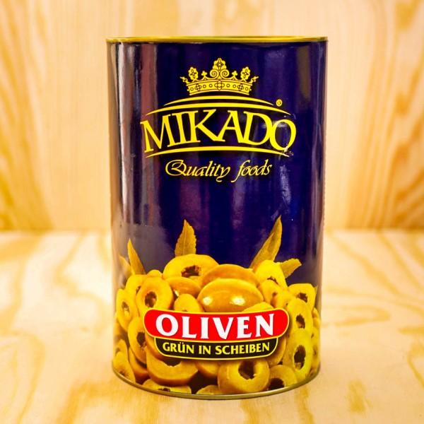 Olives, green, in Slices