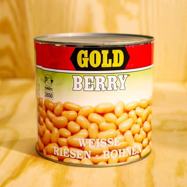 Beans, white, Bianchi Di Spagna, natural