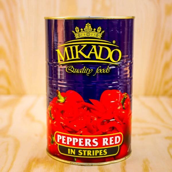 Paprika, stripes, red, sweet&soure